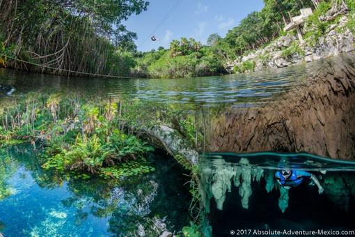 snorkeling-cenote-tour
